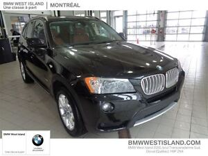 2014 BMW X3 xDrive28i PREMIUM PKG! LEATHER!