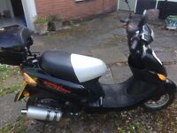 Direct Bikes 50cc moped - only 1 year old