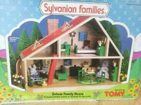 Syvanian families 1980s girls toys dolls house