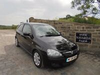 Vauxhall Corsa SXi+ Twinport In Black, 2006 06 reg, Only One Former Owner, Last Owner From 2009