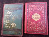 Old German books - poetry