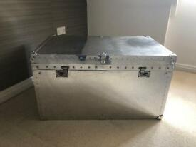 Metal Chest/Table