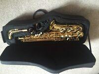 Trevor James Classic Alto Saxophone + fold up music stand