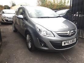 Vauxhall Corsa 1.4 Petrol 2013 Manual 3 Door Hatchback Silver FSH 12 Months MOT
