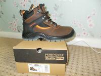 PORTWEST Steel Toe Cap Boots *Size UK 6* Brand New
