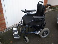 Electric Wheelchair - *As NEW*