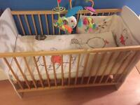 Cot bed/mattress/ can deliver