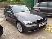 2007 BMW 320, HPI CLEAR, SERVICE HISTORY, 1 YEAR MOT, FINANCE AND WARRANTY AVAILABLE