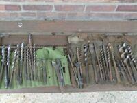 antique drill bits