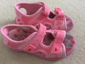 Girls sandals. Size 10