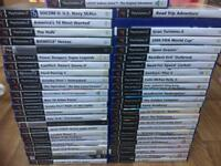 *******SOLD******+49 boxed ps2 PlayStation 2 games