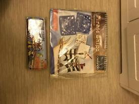 Pirate ship drawing and RNLI pencil case brand new in packaging.