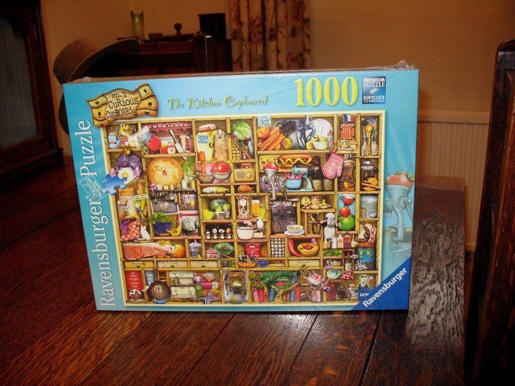 Ravensburger 1000 piece Jigsaw 'Kitchen Cupboard' - unopened