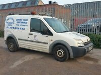 2003/53 FORD TRANSIT CONNECT T220 1.8 TURBO DIESEL ROOF RACK LOW MILEAGE 129,000 BIPPER CADDY COMBO