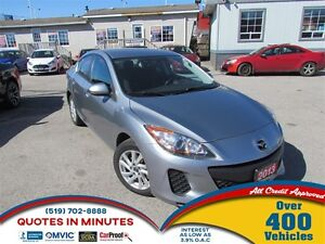 2013 Mazda MAZDA3 GX   CLEAN   AIR CONDITION   MUST SEE