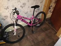 Kids girl bike