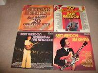 BERT WEEDON---4 X 12.INCH VINYL LP'S-(EXCELLENT)