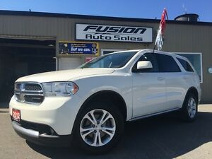 2012 Dodge Durango SXT-AWD-7PASS THIRD ROW-DUAL AIR/HEAT