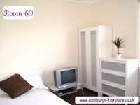 RM 60 Edinburgh Flatshare - Gorgeous Double Room - ALL BILLS INCLUDED IN MONTHLY RENT
