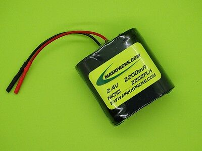 2 2200 Battery Packs For Fluke 8012a 8050a Opt1 Connectors Made In Usa