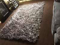 Big shaggy rug