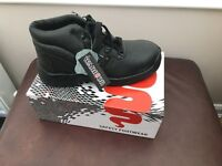 Brand new steel toe capped safety boots