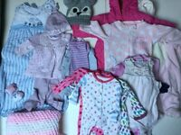 Baby Girl Clothes Bundle 0/6 Months £14 Ref. 0095