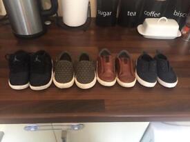 Boys shoes 4 pair bundle
