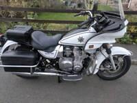 Kz1000p california police bike. Uk registered