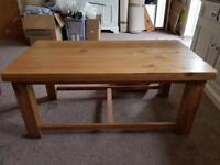 BARGAIN!! REDUCED! Sold oak coffee table