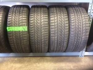 255/55/20 Goodyear Eagle F1 tire set