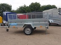 MESH, CAGE SIDE BOX TRAILER GENERAL USE, BRAND NEW, WITH WARRANTY 6ft x 4ft