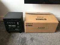 Yamaha A-S501 and Rel subwoofer