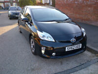Toyota Prius 2012 (62) CHEAP! UK Car NOT import! BLACK! Full UK Toyota Service History and Warranty!