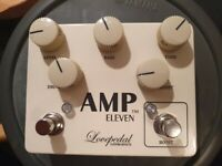 Love­pedal Amp Eleven Big Box pedal overdrive distortion boost - Now Very Rare