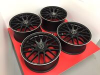 """19"""" STYLED ALLOYS WHEELS FOR MERCEDES AMG FIT 5X112 A B C E S CLASS C63"""