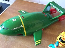 Thunderbird 2 and with figures