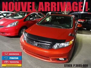 2012 Honda Civic SI+GARANTIE+COULEUR RARE+GPS+TOIT+CLIENT MAISON
