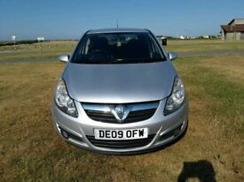 09 VAUXHALL CORSA 1.2 SXI INTOUCH 5DR IN SILVER 66K