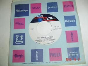 DIANA ROSS & THE SUPREMES MOTOWN 45 RPM RECORD - LOVE CHILD Windsor Region Ontario image 1