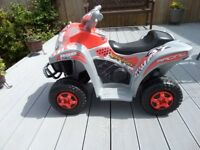 Kids quad bike by sportrax in vgc , hardly used, collection only