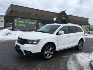 2017 Dodge Journey Crossroad / AWD / NAVI / SUNROOF / DVD PLAYER