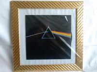 Pink Floyd Dark Side of the Moon framed LP