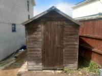 Tongue and groove shed 8' x 5'