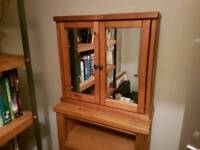 NEXT wall cabinet with mirror