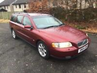 BARGAIN 2004 54 VOLVO V70 D5 ESTATE 1 YEARS MOT SERVICE HISTORY RELIABLE CAR PX WELCOME £895