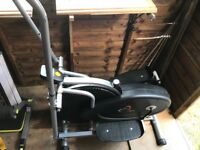 Cross trainer used twice so as new