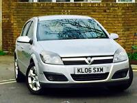 2006 VAUXHALL ASTRA 1.6 SXI*5 DOOR*7 SERVICE STAMPS*MOT TILL NOVEMBER*FREE 3 MONTH WARRANTY*MUST SEE
