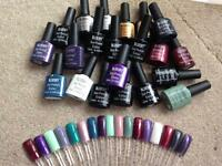 Bluesky gel nail polishes x20