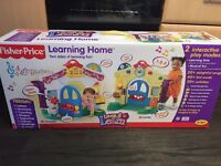 Fisher price learning home, brand new in box